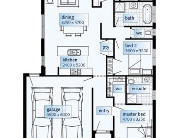 4 maidenhair floorplan
