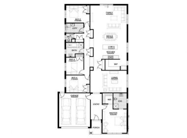 25FLOOR PLAN 48 Woodlawn Bvd YARRAGON