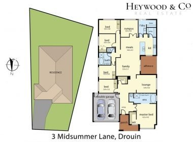 Floorplan 3 Midsummer Lane Drouin
